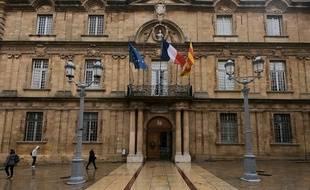 L'hôtel de ville d'Aix-en-Provence. (archives)