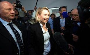 La députée FN du Vaucluse, Marion Maréchal-Le Pen, le 22 mars 2015 à Carpentras