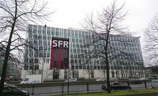 Le siège de SFR à Saint-Denis, près de Paris.