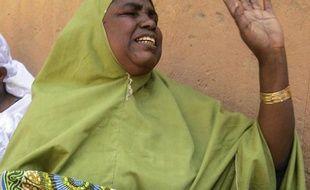 Aya-Aya, commerçante à Diffa, ville du sud-est du Niger, photographiée le 14 février 2015, a réchappé à une attaque des islamistes de Boko Haram