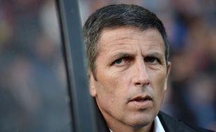 Football: C'est officiel, Thierry Laurey est le nouvel entraîneur du Racing club de Strasbourg. il succède à Jacky Duguépéroux. (Archives)