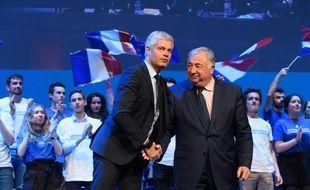 Laurent Wauquiez et Gérard Larcher