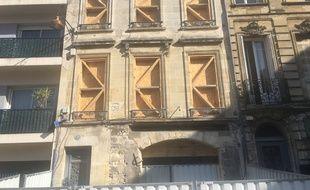 L'immeuble rue Rode, sur la place des Chartrons, qui accueillera le nouveau concept de Philippe Etchebest.