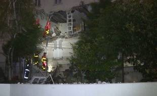 Un appartement situé rue Pajol dans le 18e arrondissement de Paris a été soufflé par une explosion dimanche 14 avril 2019.