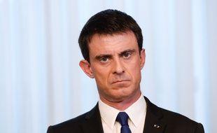 Manuel Valls à Bruxelles, le 18 mars 2015