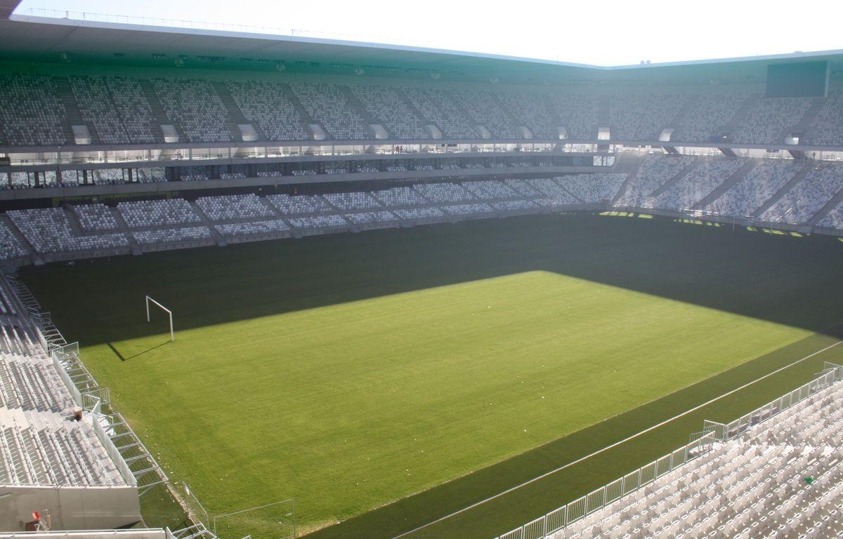 Le 11 fevrier 2015, visite du chantier de Nouveau Stade de Bordeaux –