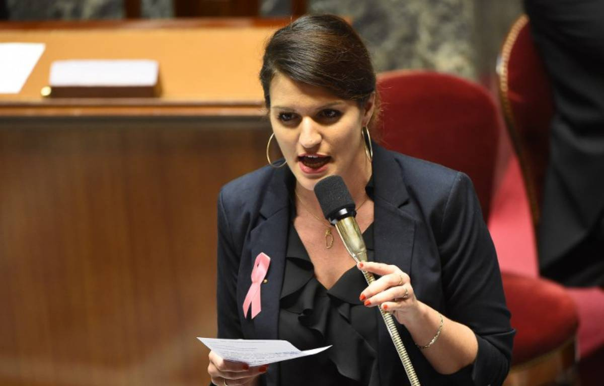 Marlène Schiappa, secrétaire d'Etat chargée de l'égalité entre les femmes et les hommes à l'Assemblée nationale. – Bertrand GUAY