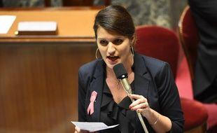 Marlène Schiappa, secrétaire d'Etat chargée de l'égalité entre les femmes et les hommes à l'Assemblée nationale.