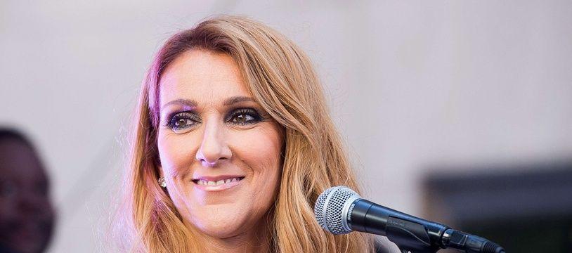 Céline Dion, le 22 juillet 2016 à New York.