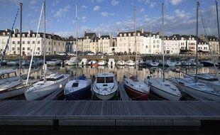 La ville de Vannes, dans le Morbihan.