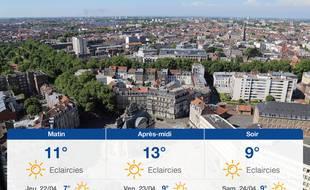 Météo Lille: Prévisions du mercredi 21 avril 2021