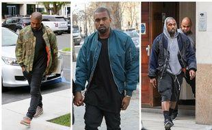 Kanye West a fait basculer le bombers dans la hype.