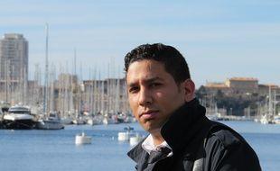 Marseille, le 28 janvier 2015, Hassen Hamou veut se presenter aux primaires de l'UMP en 2016.