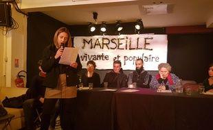 Plusieurs collectifs ont signé un même manifeste « pour un Marseille vivant et populaire»