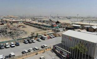 L'attaque s'est produite à l'intérieur de la base Bagram, près du réfectoire.