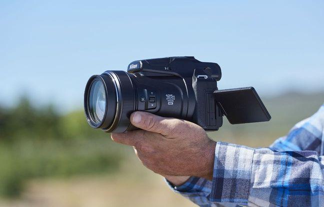 L'impressionnant Coolpix P1000 de Nikon.