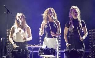 LEJ en concert à Monaco, en août 2017.
