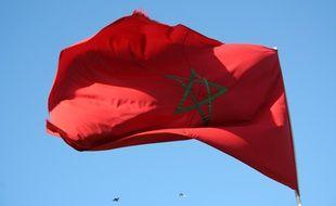 Drapeau du Maroc (illustration)