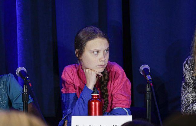 VIDEO. Sommet sur le climat : Greta Thunberg a lancé un regard noir à Donald Trump