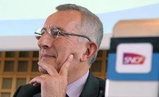 Le président de la SNCF Guillaume Pepy le 13 mars 2013 à Paris