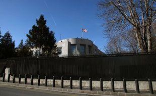 L'ambassade des Etats-Unis à Ankara.