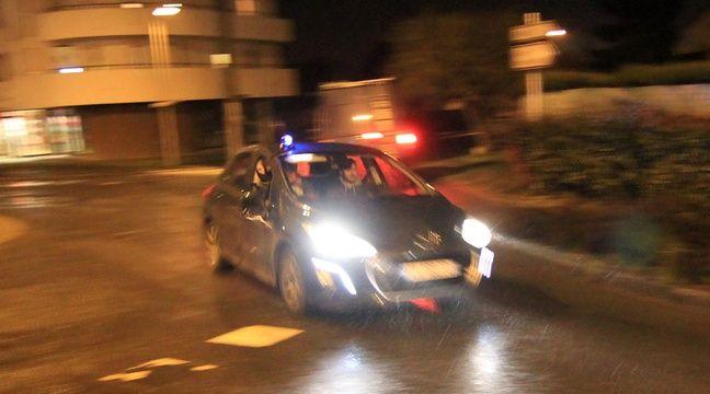 Saint-Nazaire : Il tente de semer la police avec un pneu crevé