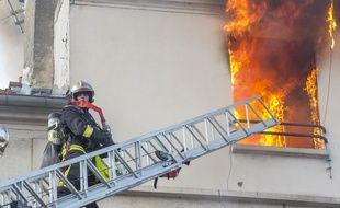 Un incendie dans un immeuble de Saint-Denis a fait au moins cinq morts, le 6 juin 2016.