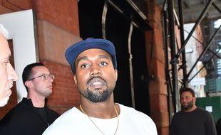 Le rappeur Kanye West à New York