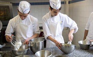Le lycée des métiers Auguste Escoffier, à Eragny-Sur-Oise, intègre des élèves en situation de handicap.