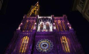 Spectacle d'été à la cathédrale de Strasbourg (Archives).