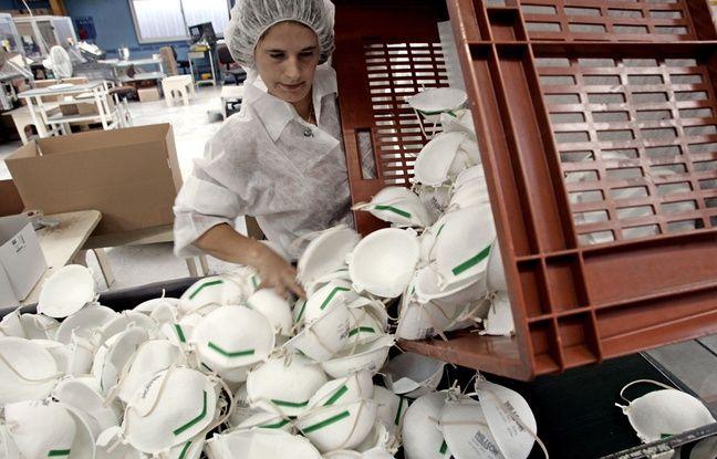 Coronavirus: Entre les pays, la compétition pour l'achat de masques fait rage