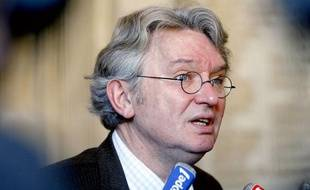 Le secrétaire général de Force ouvrière Jean-Claude Mailly le 12 avril 2010.