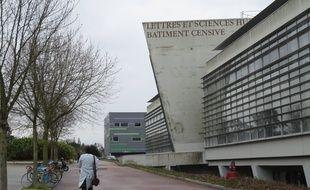 A Nantes, le 24 mars 2015- Le batiment Censive sur le campus du Tertre de l universite