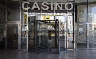 Le casino Barrière à Cannes, le 18 mars 2020.