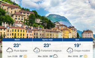 Météo Grenoble: Prévisions du dimanche 20 juin 2021