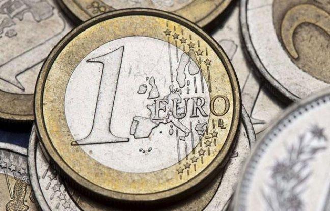 Des pièces de monnaie en euro.