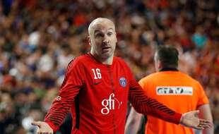 Thierry Omeyer lorsqu'il était encore gardien du PSG