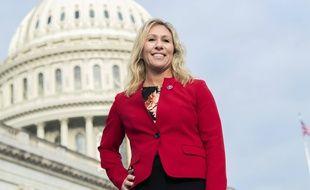 Marjorie Taylor Greene, élue pro-Trump à la Chambre des représentants, le 4 janvier 2020.