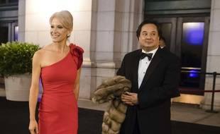 Kellyanne et George Conway le 19 janvier 2017 à Washington