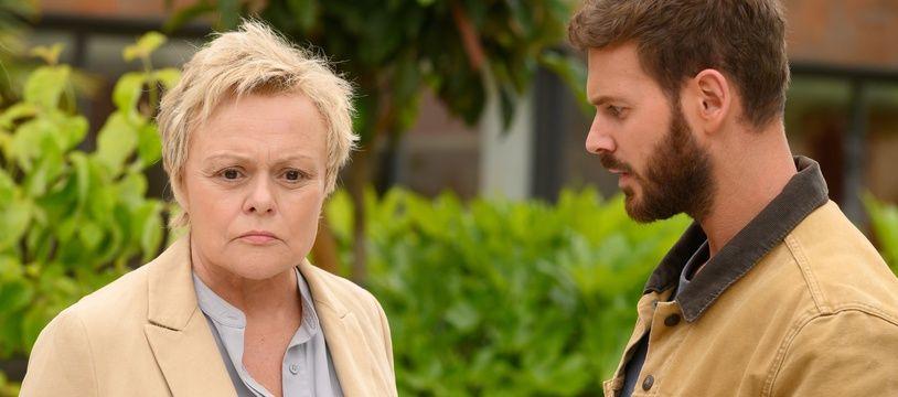Muriel Robin et Matt Pokora dans «Le Premier Oublié».