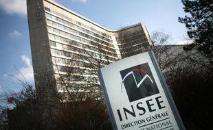 L'entrée de l'Insee à Paris