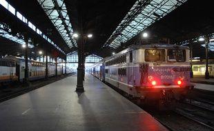 La gare Saint-Lazare à Paris