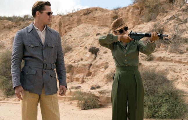 Brad Pitt et Marion Cotillard dans Alliés de Robert Zemeckis