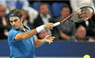 Le Suisse Roger Federer n'a encore jamais gagné le tournoi de Bercy.