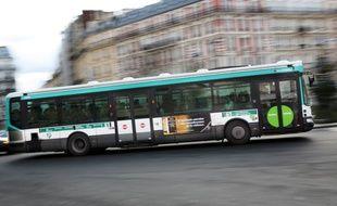Illustration: un bus de la RATP.