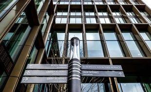 Le siège de l'Agence européenne du médicament, le 4 décembre 2020 à Amsterdam, aux Pays-Bas.