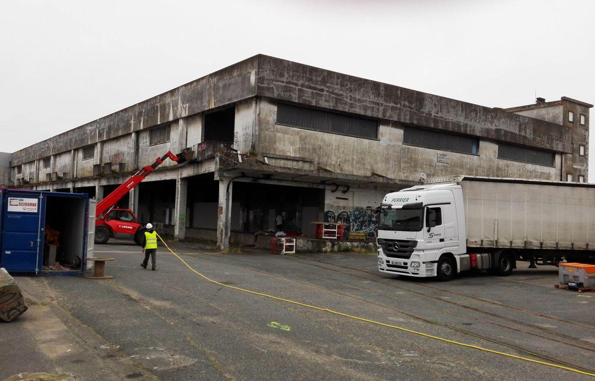 La Fabrique de glace est située près du pont des Trois-Continents. – F.Brenon/20Minutes
