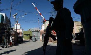 Des policiers à Kaboul