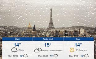 Météo Paris: Prévisions du lundi 28 septembre 2020