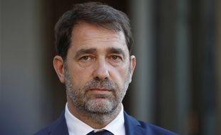 Le ministre de l'Intérieur Christophe Castaner à l'Elysée le 19 mai 2020